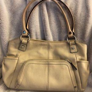 Tignanello Cream Handbag